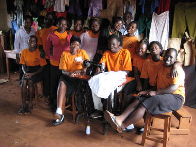 tailoring group smiling